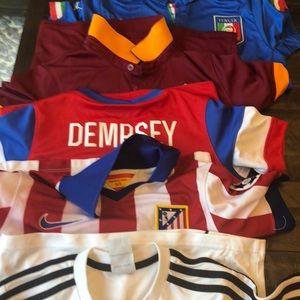 Other - 5 boys size small soccer jerseys